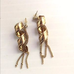 Jewelry - 80's Statement Earrings Vintage Disco